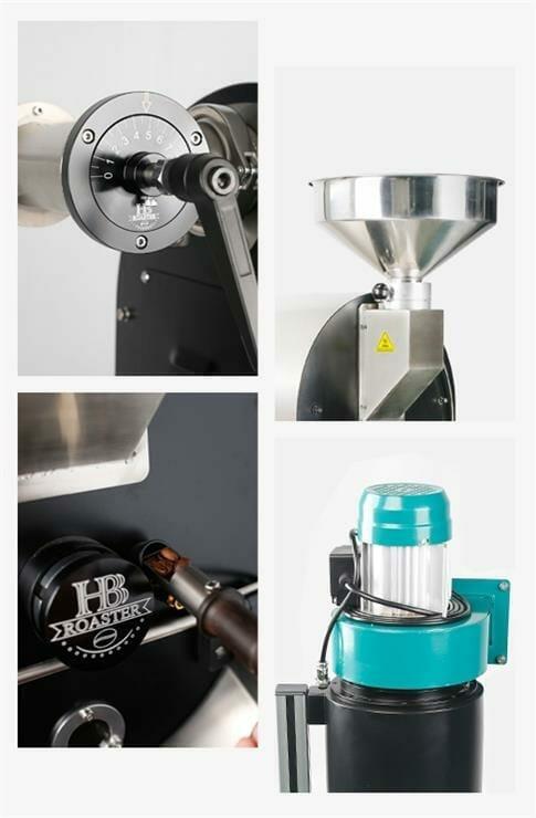 hb 2kg coffee roaster