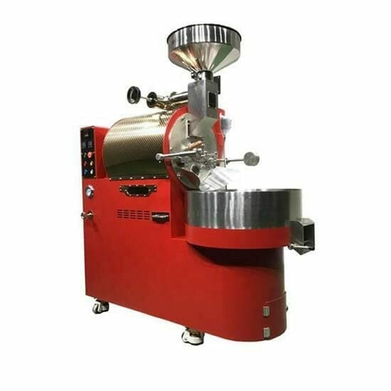red zk-10kg coffee roaster