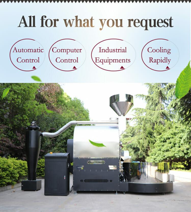 ZD 60kg industrial roaster details 01