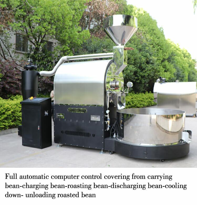ZD 60kg industrial roaster details 02