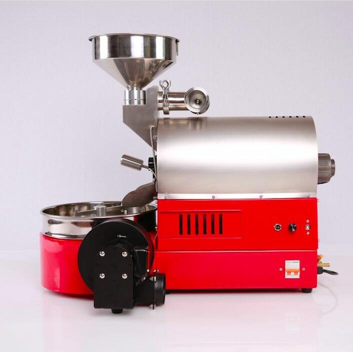 red coffee roast machine