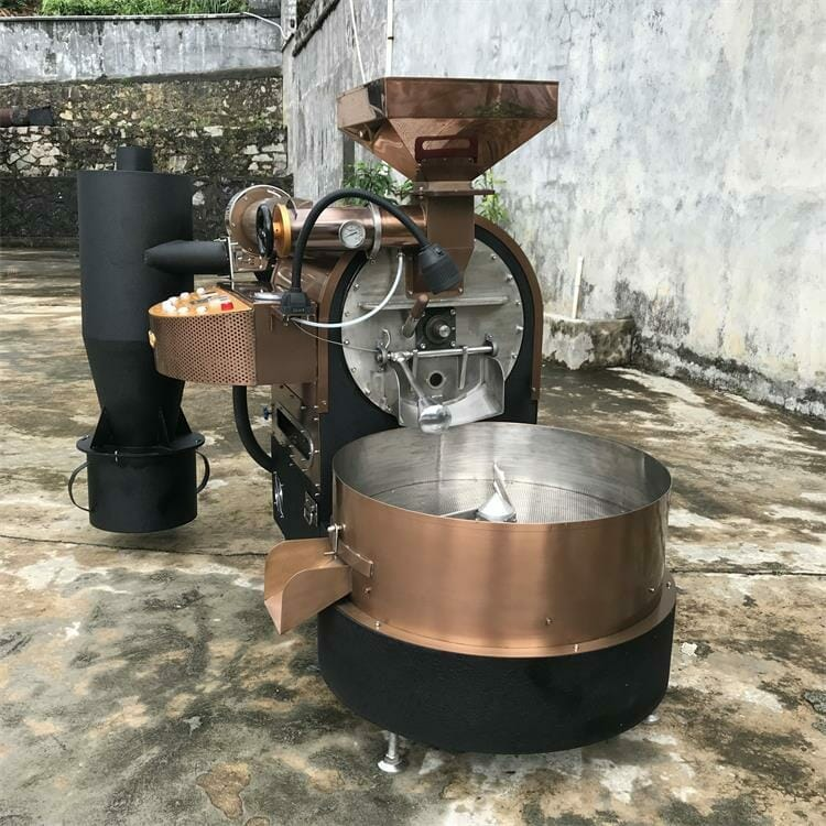 ZY 6kg gas coffee roaster for sale 4