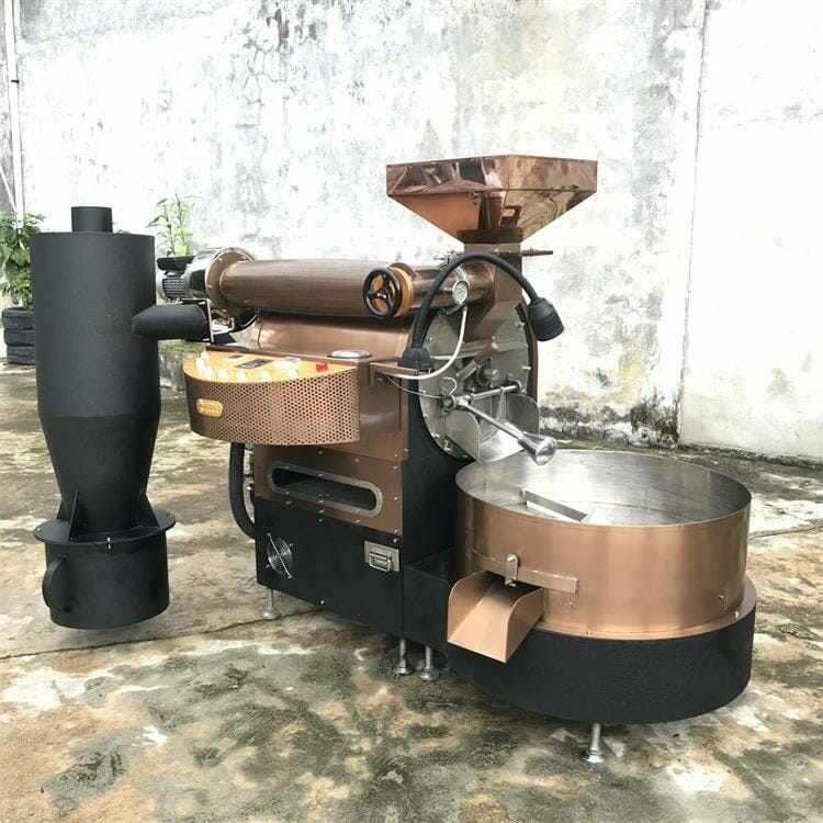 ZY 6kg gas coffee roaster for sale 5
