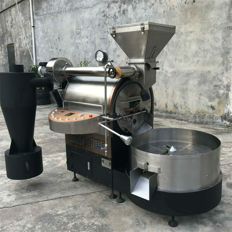 ZY 6kg gas coffee roaster for sale 7