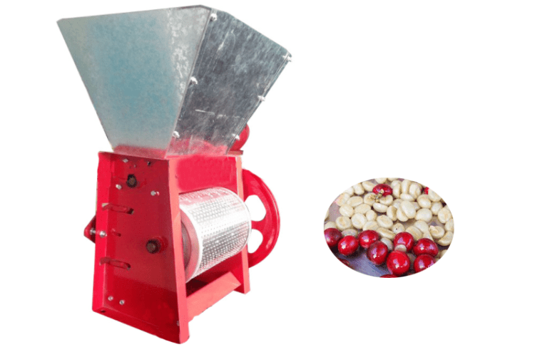 Hand-cranked coffee huller for sale