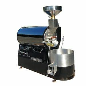 black 2kg coffee roaster machine