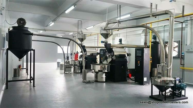 60kg industrial coffee roaster