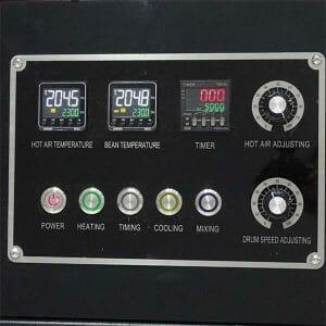 coffee roaster dashboard