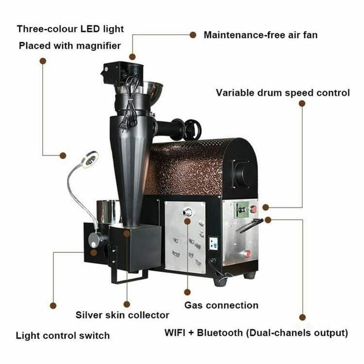 coffee roaster R500 master