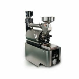 cast iron drum coffee roaster