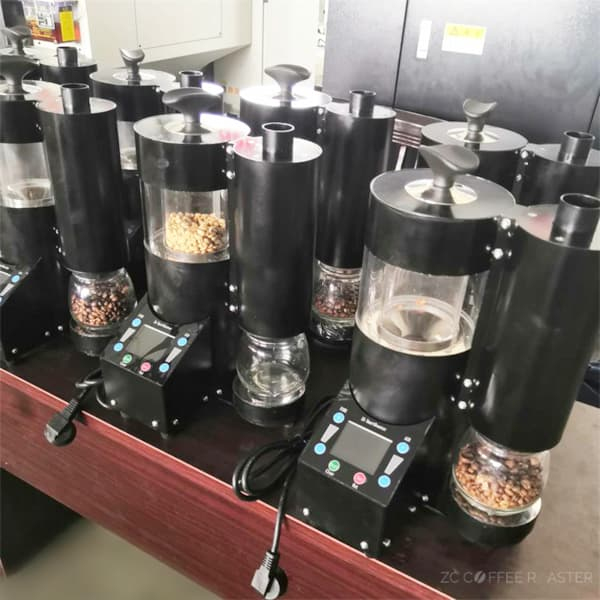 hot air roaster with cyclone