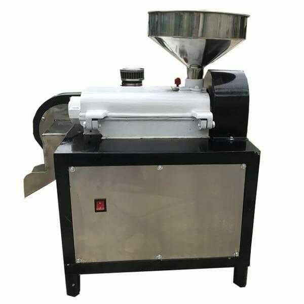 coffee hulling machine