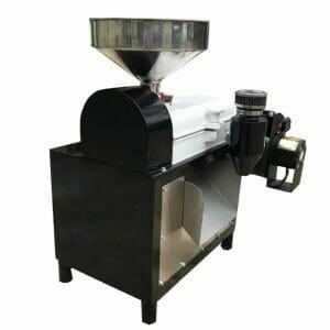 small coffee hulling machine